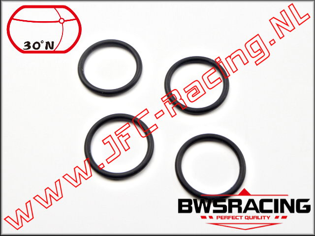 30N-53017, O-Ring Lower Shock Absorber Nut 4pcs.