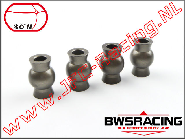 30N-55042, Camber Balls (Hard Coated Aluminum)(Camber) 30º North 4pcs.
