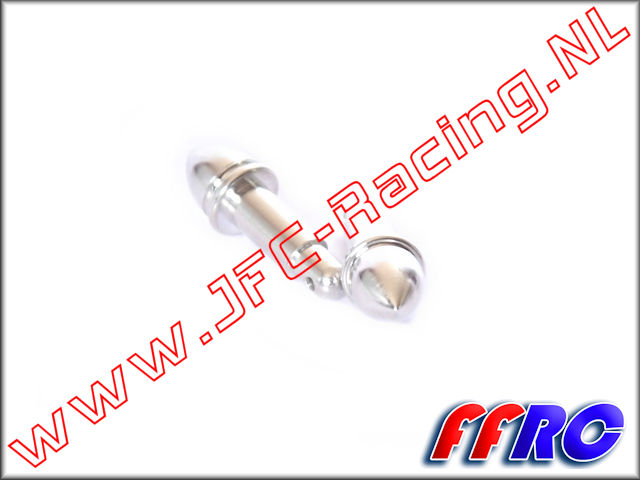 5B006SPK, FullForce RC Billet Gear Cover Pins (Spiked)(HPI Baja 5b / 5T / 5SC) 2pcs.