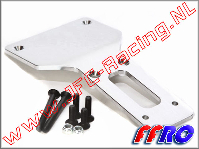 5B025, FullForce RC Aluminum Front Lower Chassis Brace (5B / 5T / 5SC) 1pcs.