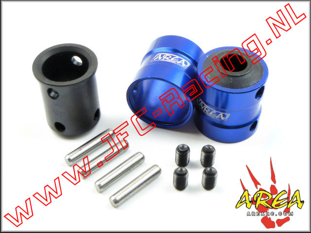AR-L021-Blue, Quick coupling V2 (Front & Rear)(Losi 5ive-T & Mini WRC)(<FONT COLOR=0000ff>Blue</FONT>)(Area Rc) 2st.