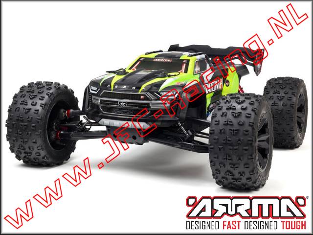 ARA110002T1, 1/5 KRATON 4X4 8S BLX Brushless Speed RTR Monster Truck (<FONT COLOR=00ff00>Green</FONT>)1pcs.