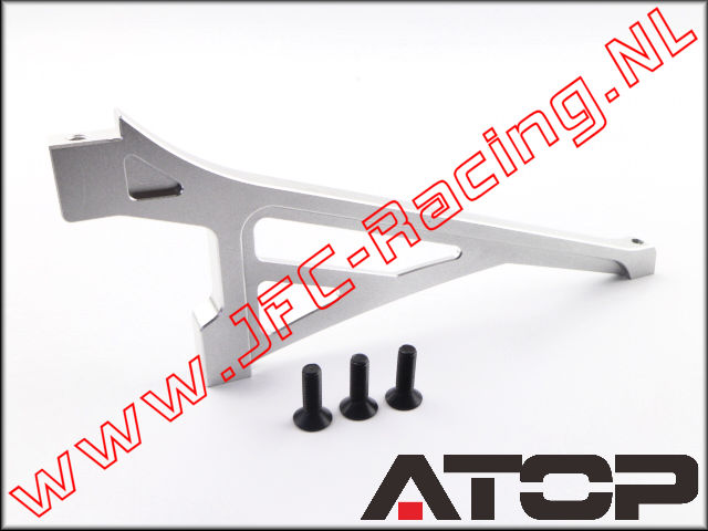AT-5T001, ATOP Aluminum Front Chassis Brace V2 (Losi 5ive-T / Losi 5ive-B / Mini WRC)(6061-T6 Alloy) 1pcs.