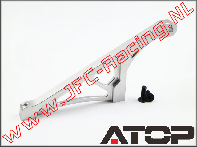 AT-5T002, ATOP Aluminum Rear Chassis Brace V2 (Losi 5ive-T / Losi 5ive-B / Mini WRC)(6061-T6 Alloy) 1pcs.