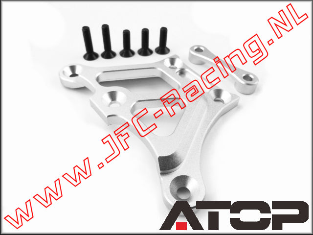 AT-5T003, ATOP Aluminum top chassis brace V2 (Losi 5ive-T / Losi 5ive-B / Mini WRC)(6061-T6 Alloy) 1pcs.