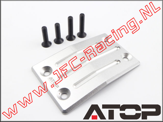 AT-5T006, ATOP Aluminum Front Skid Plate (Losi 5ive-T / Losi 5ive-B / Mini WRC)(6061-T6 Alloy) 1pcs.