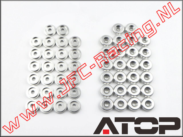 AT-5T008, ATOP Aluminum Body Washers (Losi 5ive-T)(6061-T6 Alloy) 26pcs.