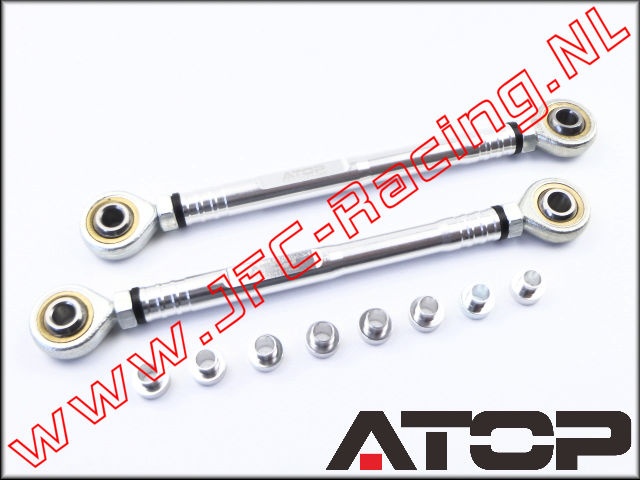 AT-5T013, ATOP Aluminium Achterste Camber Rod (Losi 5ive-T)(6061-T6) 1st.