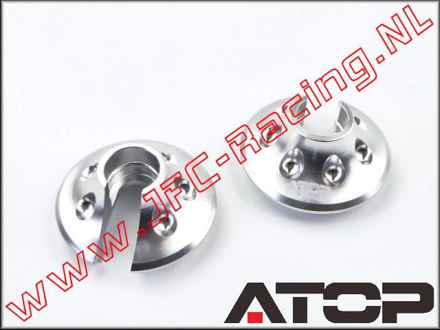 AT-5T018-02, ATOP Aluminum Spring Perches (Losi 5ive-T / Losi 5ive-B / Mini WRC)(6061-T6 Alloy) 2pcs.