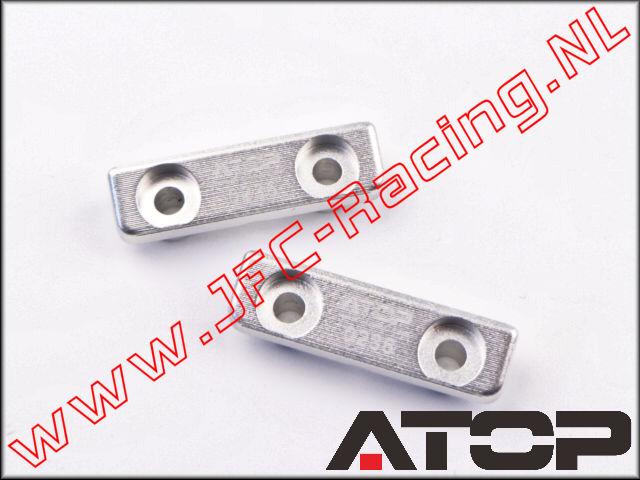 AT-5T020-01, ATOP Aluminum Servo Clamps (Savox 0235/2036, JX 2060/2070, Triton TT-7301) 2pcs.