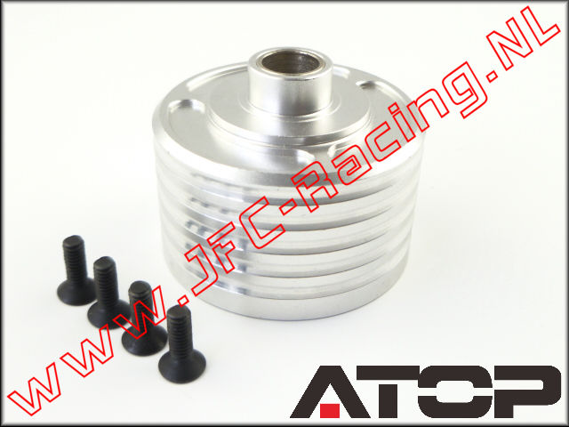 AT-5T022, ATOP Aluminum Differential Case (Losi 5ive-T / Losi 5ive-B / Mini WRC)(6061-T6 Alloy) 1pcs.