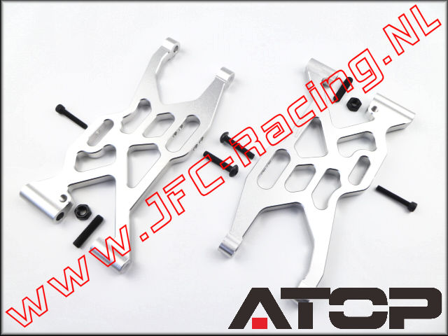 AT-5T024, ATOP Aluminium Rear Suspension Arms V2 (Left / Right)(Losi 5ive-T)(6061-T6 Alloy) 2pcs.