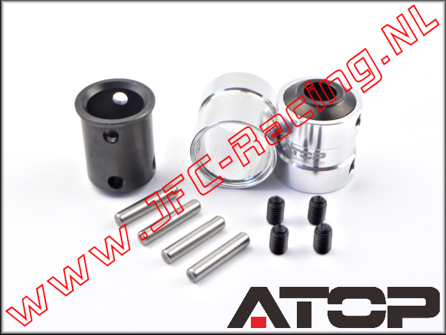 AT-5T025, ATOP Quick Coupling V2 (Front & Rear)(Losi 5ive-T & Mini WRC) 2pcs.