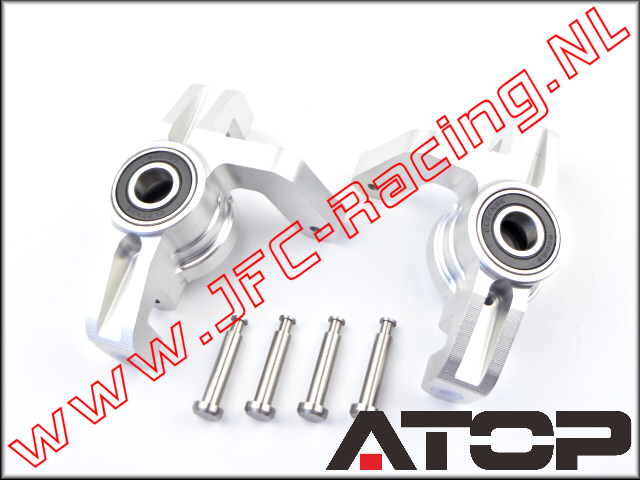 AT-5T026, ATOP Steering Hub (Left / Right)(Losi 5ive-T & Mini WRC)(6061-T6 Alloy) 2pcs.