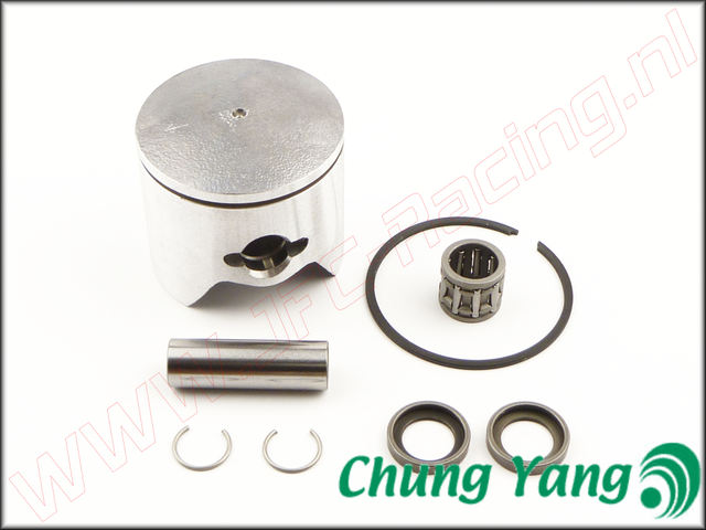 CY F270/2, Zuiger Revisie Kit F270 (CY)(27,2cc)(Ø 34 mm)(1mm ring) 1st.