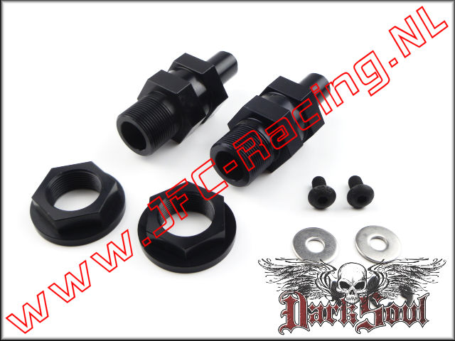 DSR 0005, Axle Extenders Front (V.2)(HPI 5B / 5T)(Darksoul Racing) 2pcs.