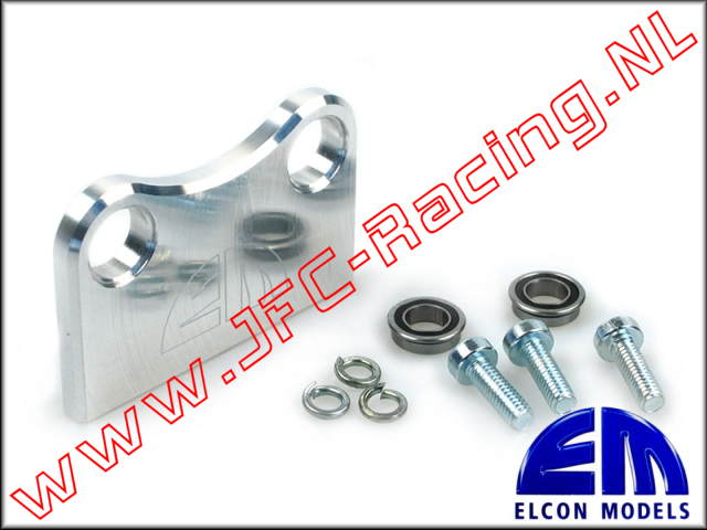 EM 45406, Base Plate Steering Axles (TRAXX-2WD) 1pcs.