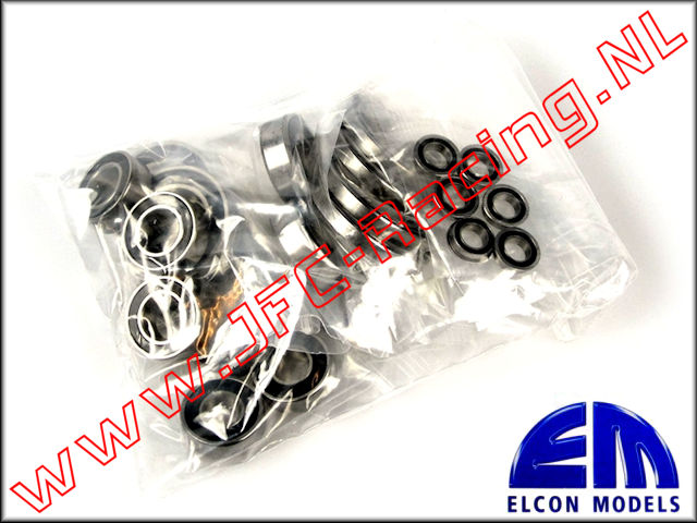 EM 45777, Bearing set for Traxx (27pcs) 1pcs.