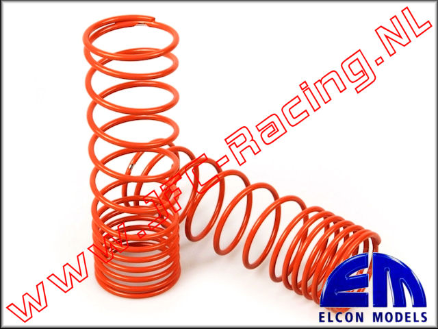 EM 70300-30-2.2, Progressive springs (32mm)(110mm)(2,2)(<FONT COLOR=ff7301>Orange</FONT>) 2pcs.