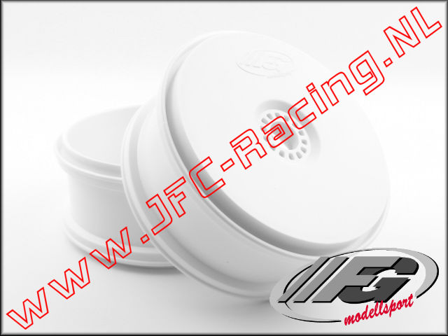 FG 67215, Disc Rim Hex 24mm (white)(TIRE SAVE) 2pcs.
