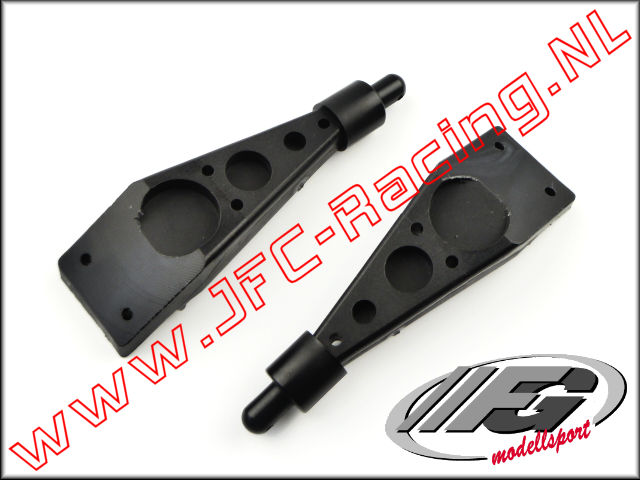 FG 7014/2, Body mounts (middle/rear)(4WD)(76mm) 2pcs.