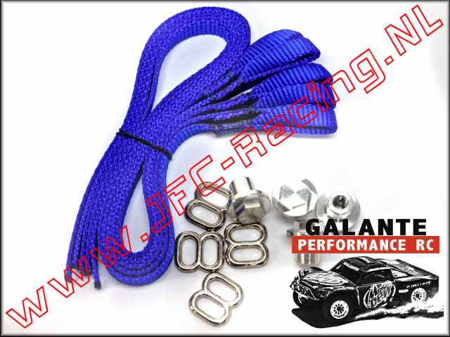 GPR-0430BL, Limit Strap (<FONT COLOR=0000ff>Blue</FONT>)(Galante Performance RC) 1set.