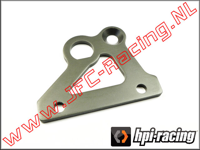 HPI 102162, Brake Holder Plate (<FONT COLOR=404040>Gun metal</FONT>) 1st.