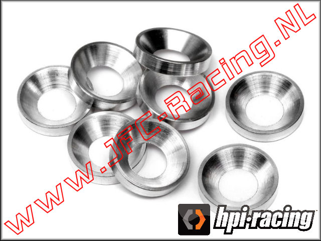 HPI 50504, Concave Washer (5mm) 8pcs.