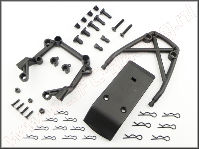 HPI 85420, Bumper voor-as set.