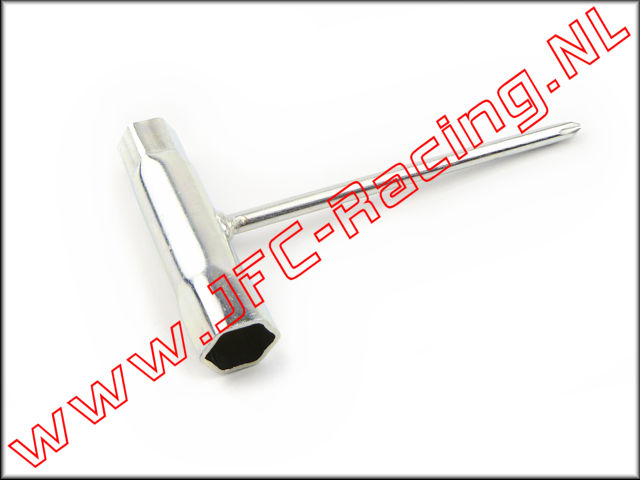 JFC 0068, Spark Plug Wrench (13 / 16mm) 1pcs.