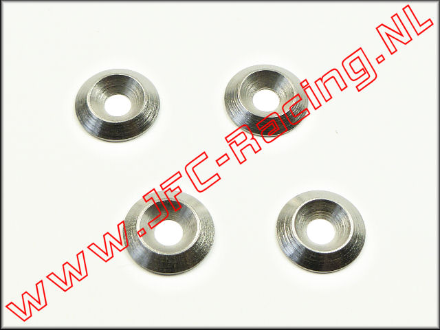 JFC 0102, Engine Fasteners Rings (M4) 4pcs.