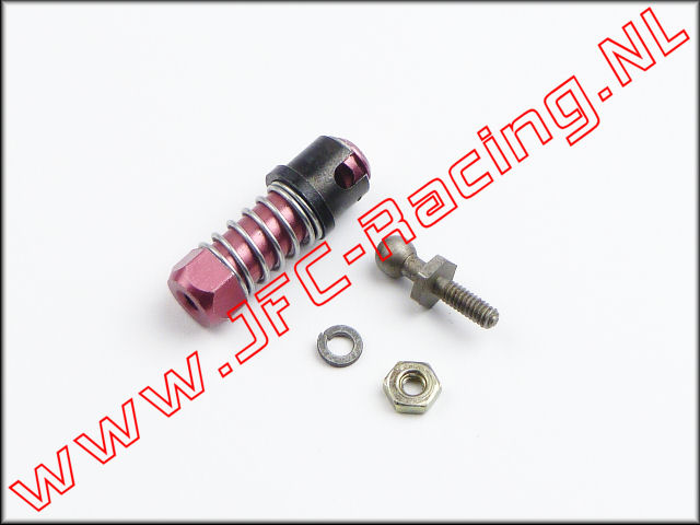 JFC 0276, Ball Connector w/Sleeve (2-56)(Losi Throttle Linkage) 1st.