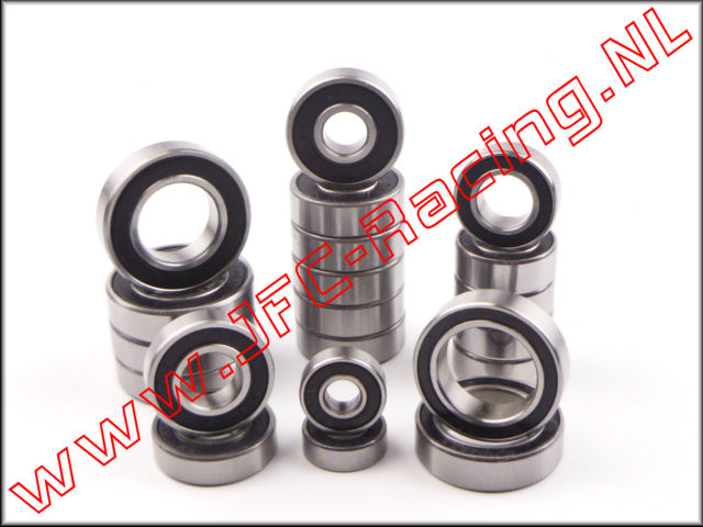 JFC 5920, Ball Bearing Set Aluminum Differential (21pcs)(FG 4WD On-Road) 1pcs. <BR>