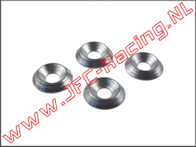 JFC 61027-02, Special Mounting Rings M6 (Racing Center Differential Mount 30°N BWS-5B / 30DNB) 4pcs.