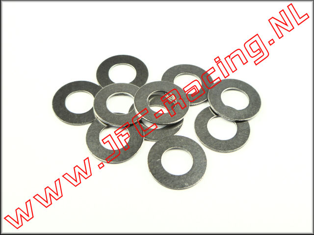 JFC 6741, Shim ring (Ø 6 x 12 x 0,5mm) 10 pcs.