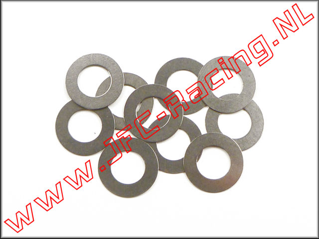 JFC 6742, Steel Shim Washer (Ø 7 x 13 x 0,3mm) 10pcs.