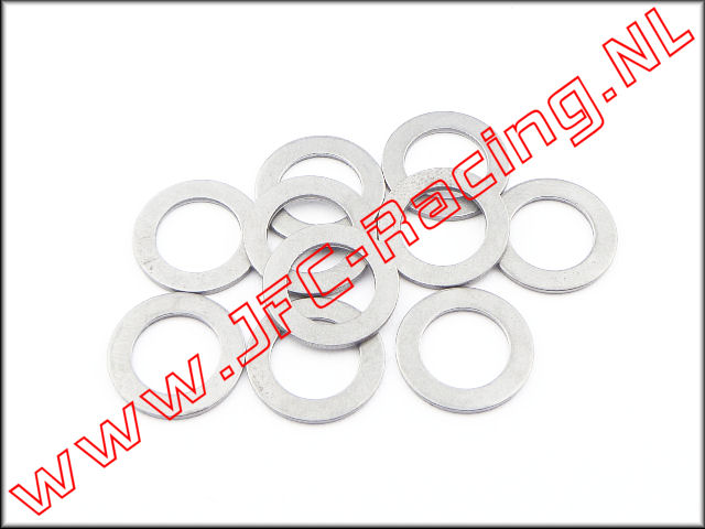 JFC 6745, Shim ring (Ø 10 x 16 x 1,0mm) 10 st.