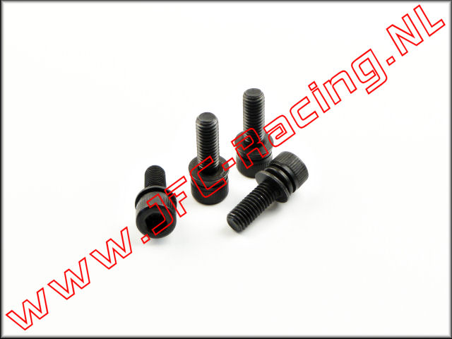 JFC 7334/7, Motor Flange Bolt (M5 x 16mm With Washer) 4pcs.