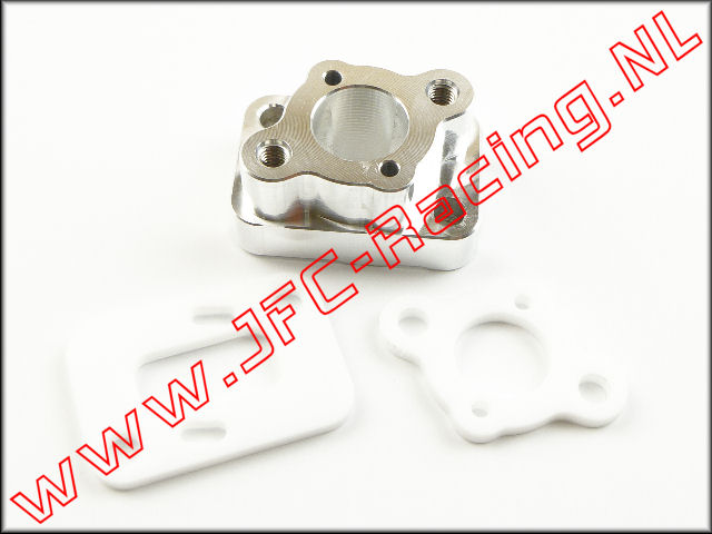 JFC 7536, High performance isolator (Recht)(Aluminium ST6061)(Zenoah G320RC) 1st.