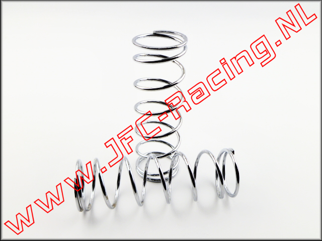 JFC 9011, HD Shock Spring Front (13,5 lb)(Chrome)(Losi 5ive) 2pcs.