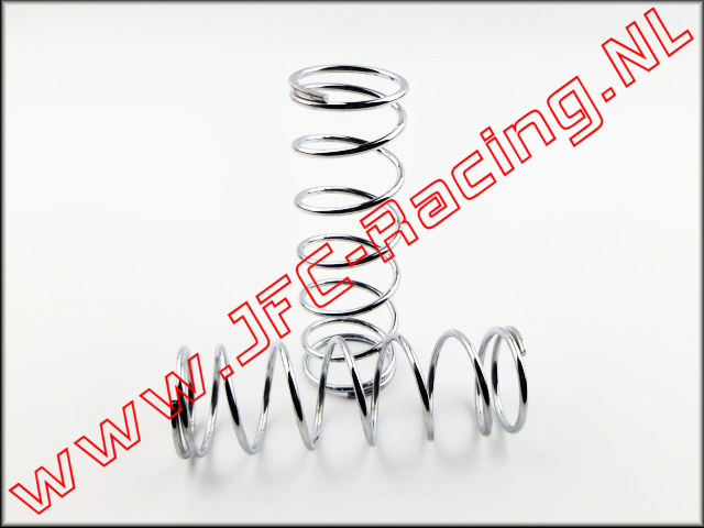 JFC 9013, HD Shock Spring Front (14,5 lb)(Chrome)(Losi 5ive) 2pcs.