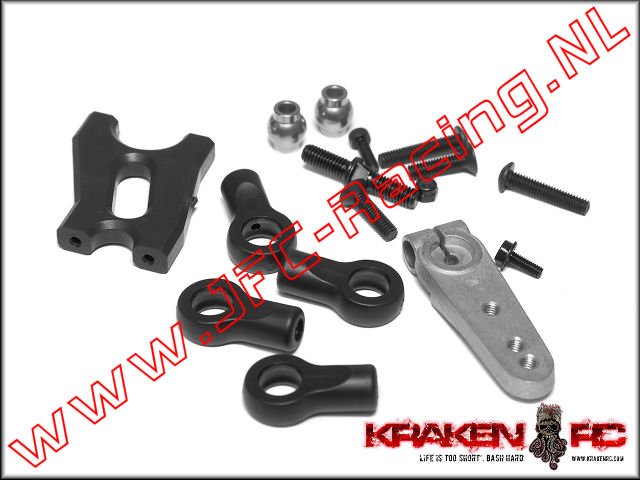 KV2240, VEKTA.5 2nd Steering Servo Bracket Kit 1st.