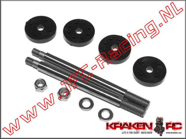 KV2243, VEKTA.5 Front Shock Shaft and Piston 1set,