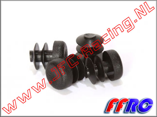 L5T014, FullForce RC Losi 5IVE-T Axle Caps 4pcs.