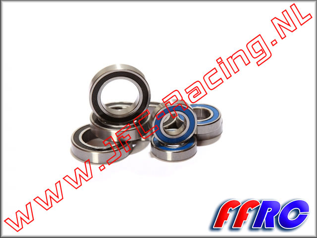 L5T071, FullForce RC Losi 5IVE-T Wheel Bearing Kit 8 pcs.