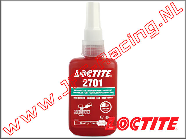 LOC-2701, Loctite 2701 Threadlocker (Super Strength)(<FONT COLOR=00ff00>Green</FONT>)(50ml) 1pcs.