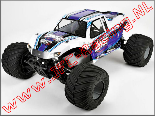 Bouwtekening Losi Monster Truck XL.