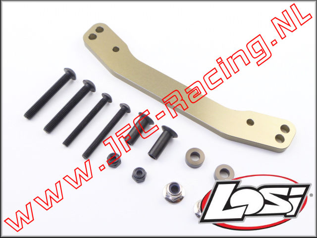 LOS 251071, Steering Rack & Hardware (5ive-T 2.0) 1pcs.