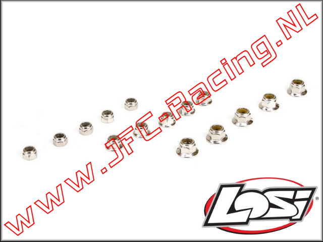 LOS 256000, Locknut Set (DBXL) 15pcs.