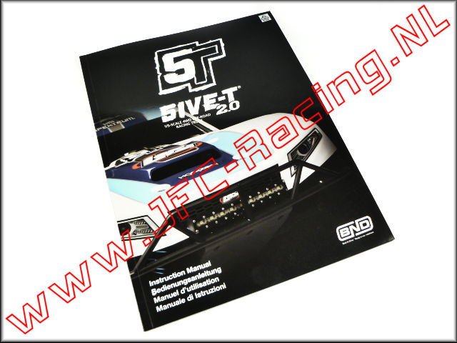 LOSI 5IVE-T 2.0 Manual, Instruction Manual (Losi 5ive-T 2.0) 1pcs.